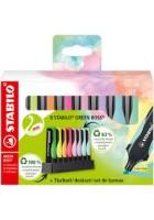 evidenziatore-green-boss-pastel-set-scrivania-8-pz-stabilo